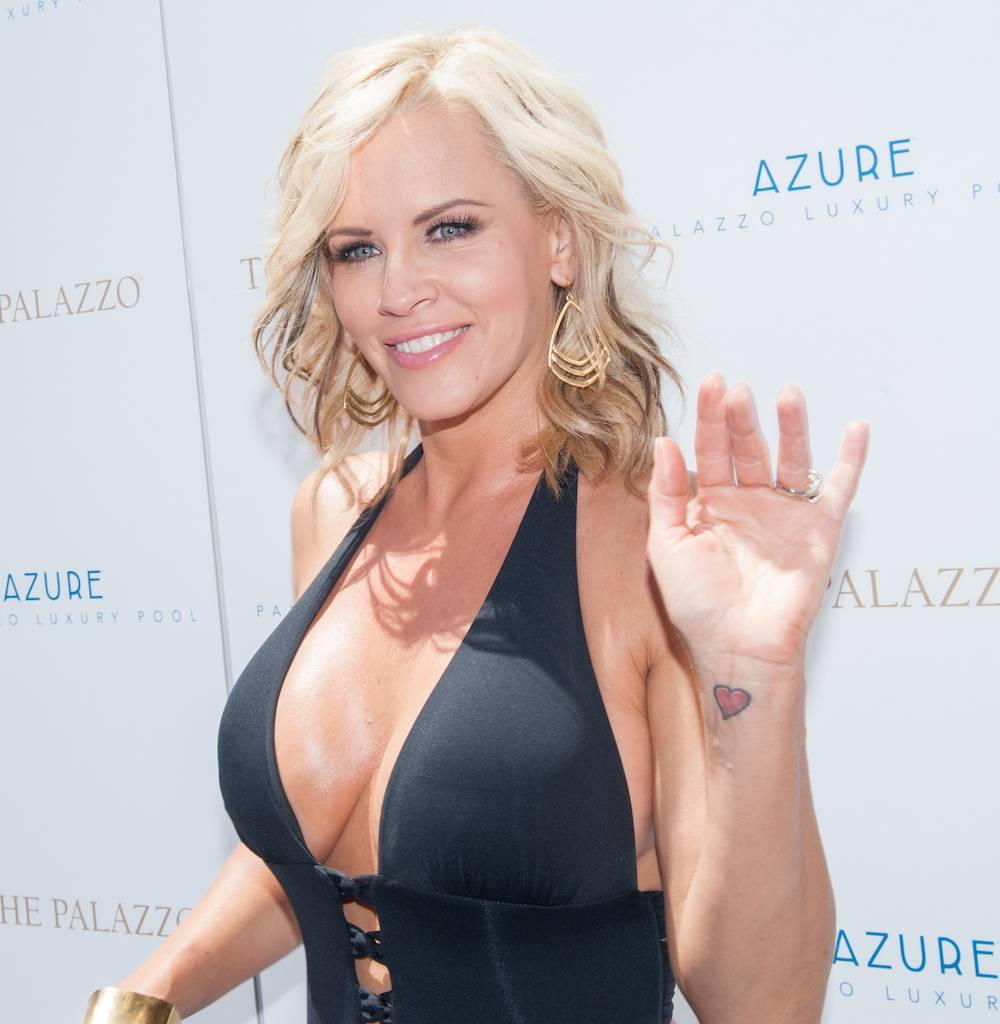 Jenny Mccarthy Parties At Azure Luxury Pool