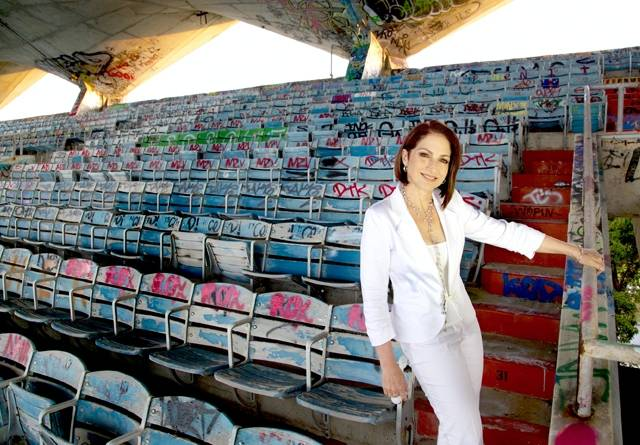 Gloria Estefan at Miami Marine Stadium