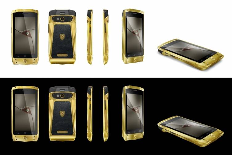 Antares Smartphone in gold