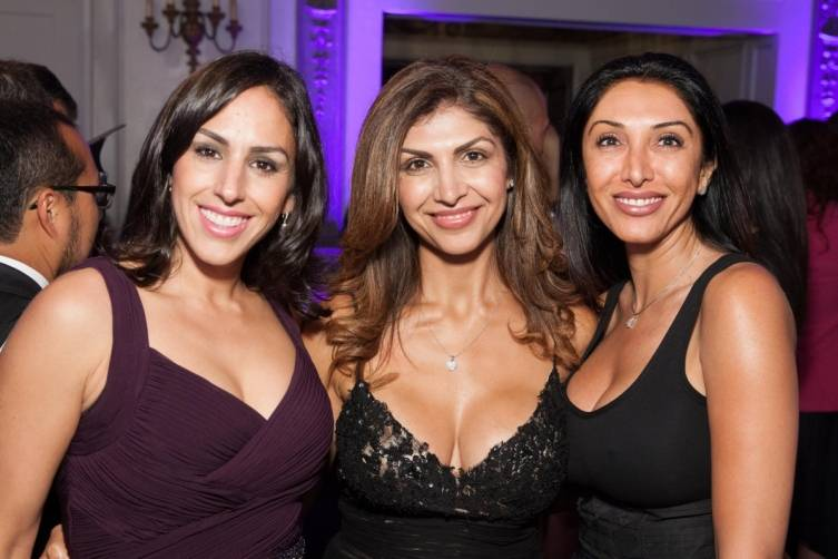 Maria Contente, Fatima Erlandson and Farnas Farahani