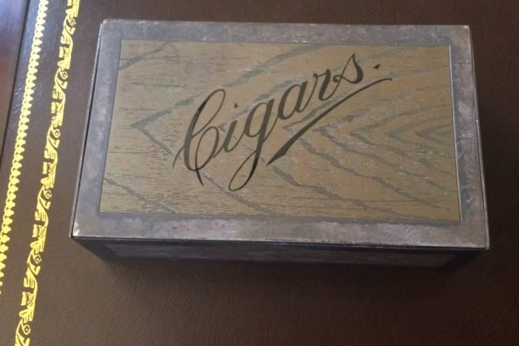 Sterling Silver Tiffany Cigar Box