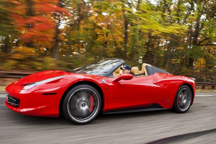 Ferrari 458 Spider available at Gotham Dream Cars
