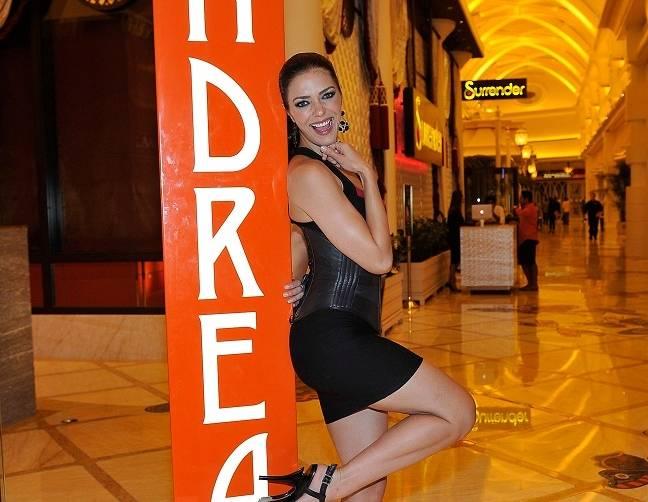 Nina Agdal At Andrea's In Encore At Wynn Las Vegas