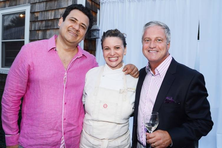 David Martinez , Chef Michelle Bernstein and Brian Jones