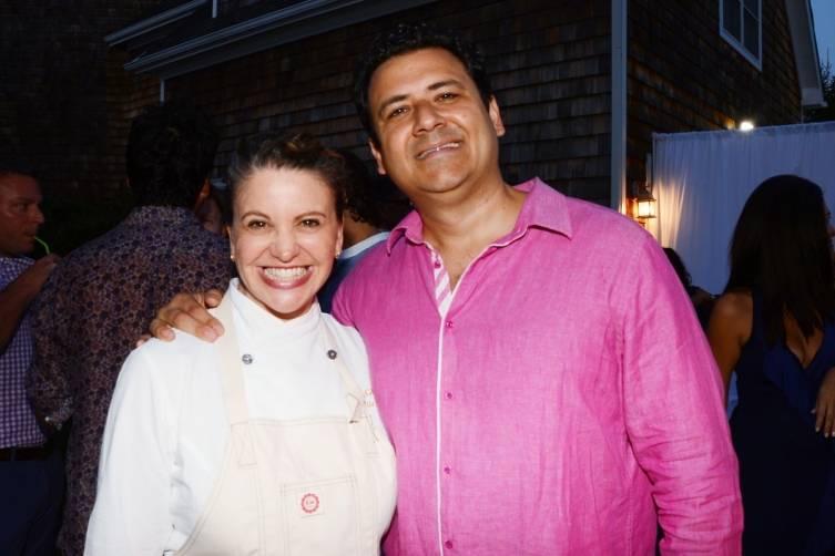 Chef Michelle Bernstein andDavid Martinez