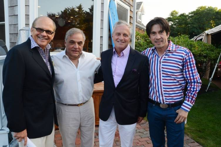 David Casey, Lee Brian Schrager, Brian Jones and Ricardo Restrepo