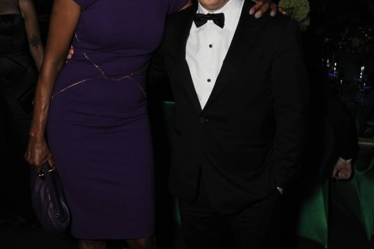 Aisha Tyler and Chris Parnell