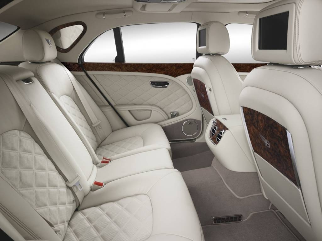 Bentley Mulsanne Interior  Photo courtesy of Bentley Motors