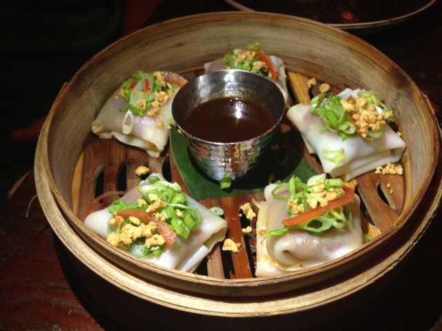Burmese Fresh Noodle Wraps
