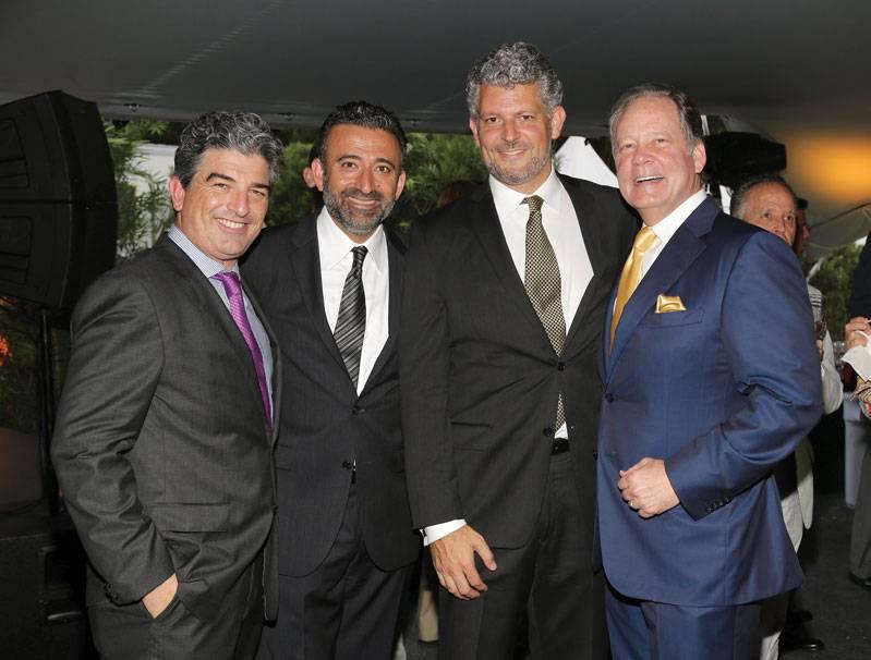 Carlos Rosso, Arash Azarbarzin, Javier Cuadros, Allen Morris