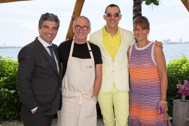 Carlos Rosso, Michael Schwartz, Karim Rashid, Sonia Figuero