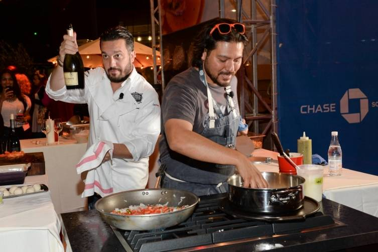 Chase Sapphire Chef Challenge with Fabio Viviani and Ray Garcia