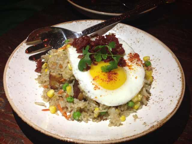 Chinese Pork Belly Fried Rice