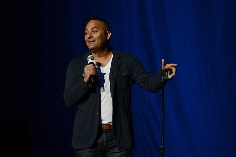 Russell Peters. Photos: Denise Truscello