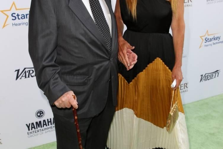 Ed Asner and daughter Liza