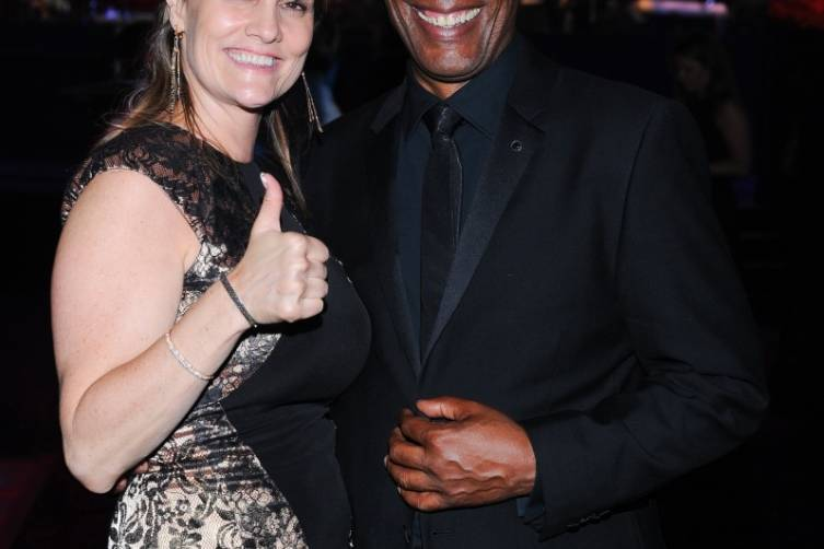 Joe Morton and Christine Lietz