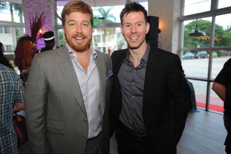 John Kunkel, 50 Eggs CEO and Patrick Lang of The Venetian Las Vegas