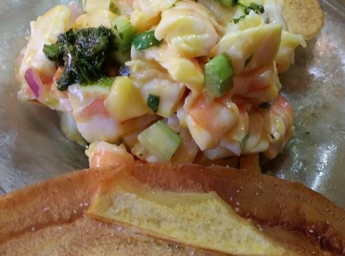 Jumbo Shrimp Tiradito at Sushi Samba
