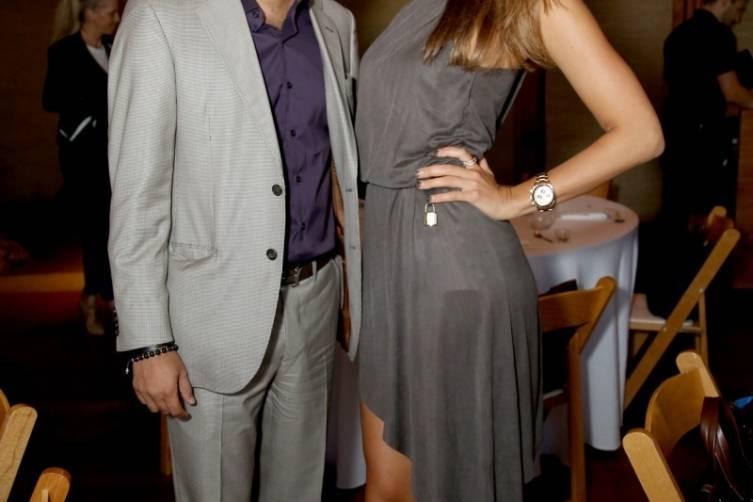 Kamal Hotchandani and Alexandra Eriksson