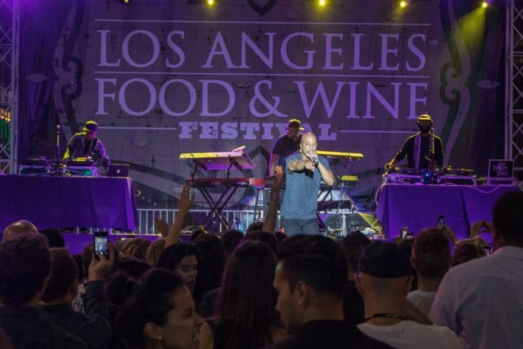 Common performs at LA Food & Wine