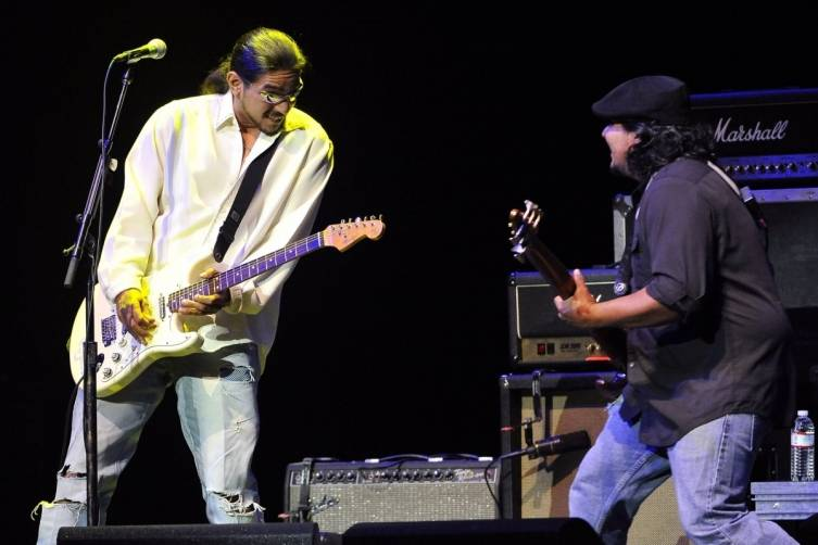 Los Lonely Boys. Photos: David Becker