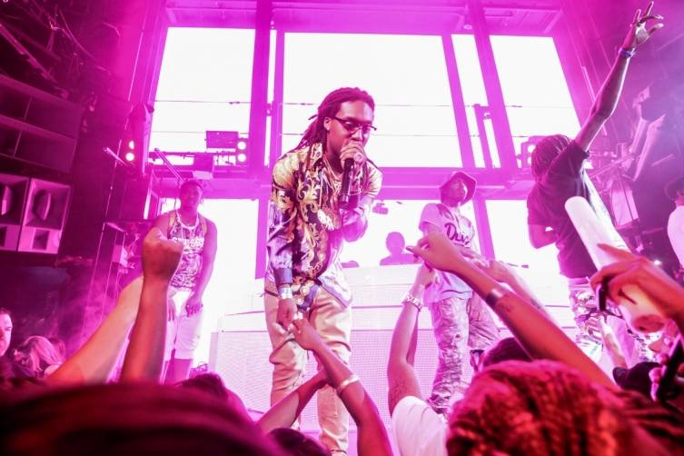 Migos Hosts Official Project Party at Marquee