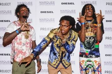 Migos on the Red Carpet at Marquee
