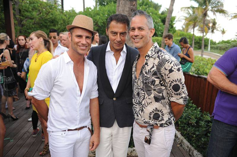 Nacho Polo, Giovanni Bianch, & Roberto Onuska