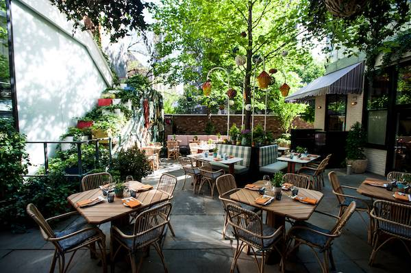 Top 5 Outdoor Dining In Nyc