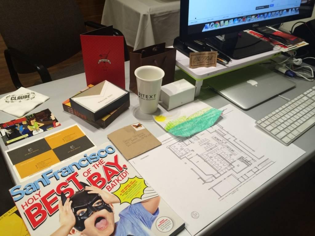 Obie's Desk