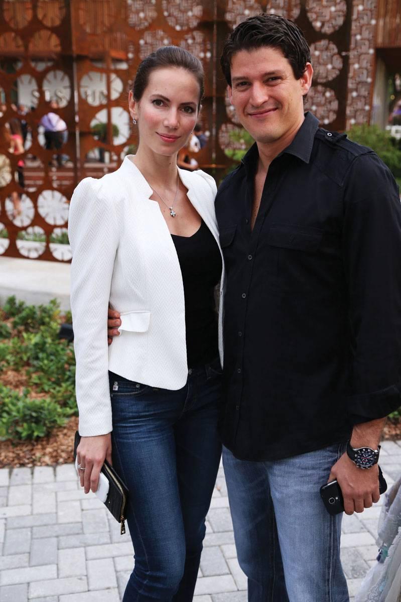 Oxana Kulida  & Luis Rojas