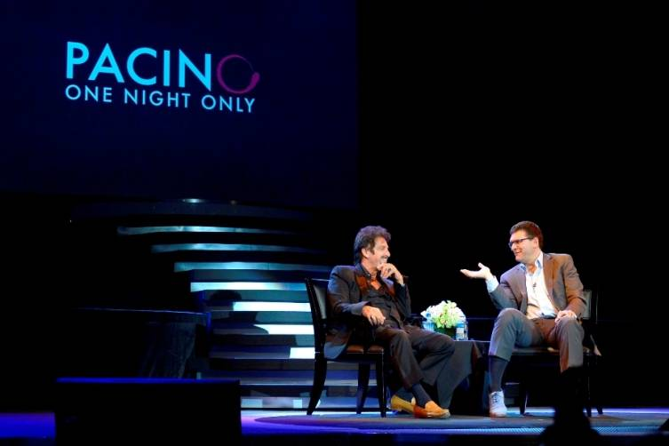 Pacino One Night Only at The Mirage - Photo by Bryan Steffy 01