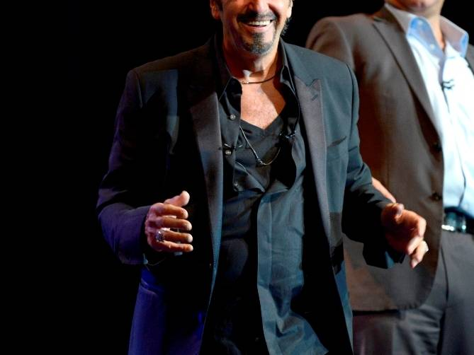 Pacino One Night Only at The Mirage - Photo by Bryan Steffy 02
