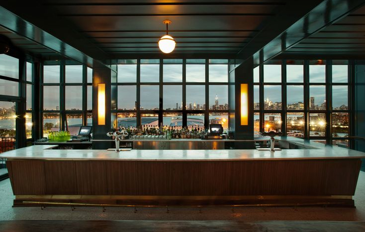 The Bar at the Wythe Hotel. Image via cntraveler.com