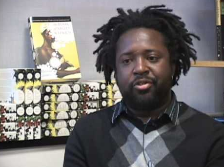 Marlon James and book, image via goodreads.com