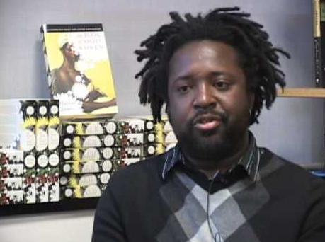 Marlon James and book, image via goodreads.com