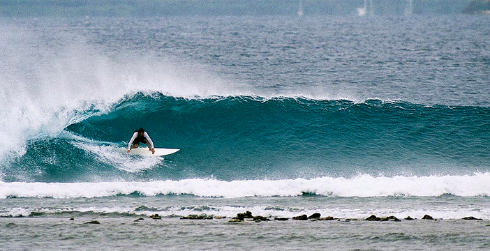 "William Finnegan employs hands-on research for his new book ""Barbarian Days,""  image via surfermag.com"