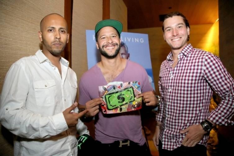 Shammi Shinh, Ian Llobregat, and Alejandro Soto of The Billionaires Club