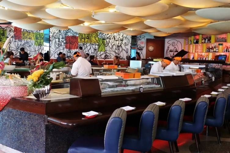 Sushi Bar at Sushi Samba South Beach