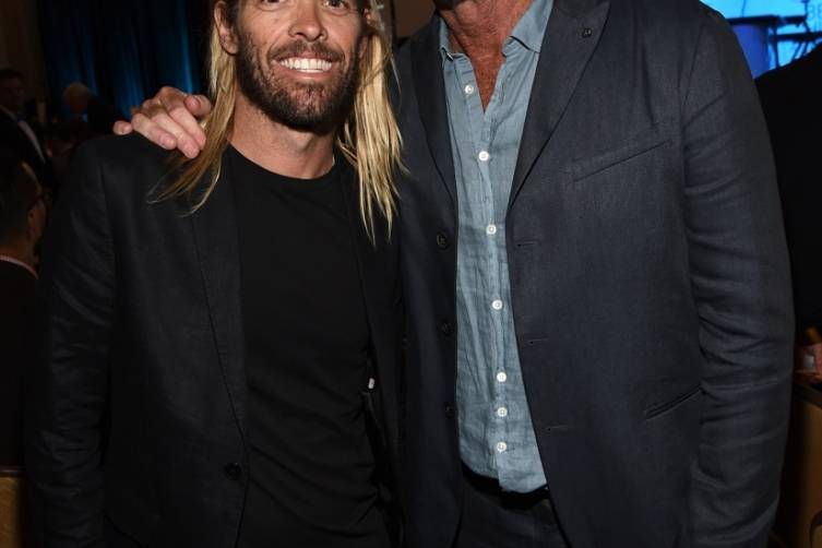 Taylor Hawkins and Chad Smith