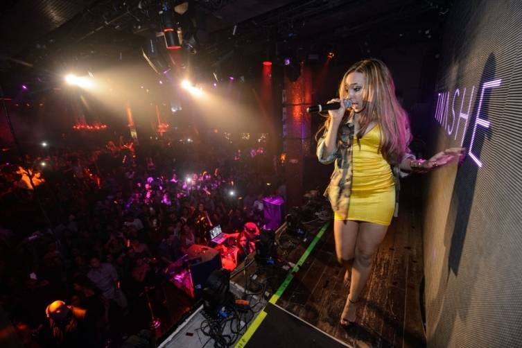 Tinashe Performs at TAO Nightclub