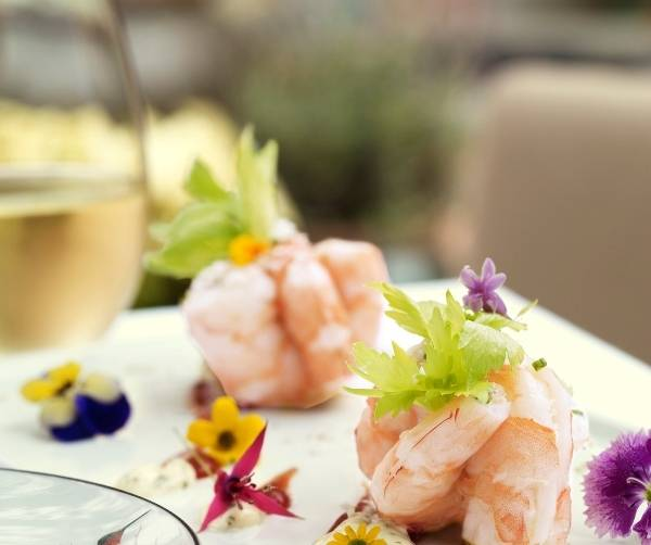 Chilled Prawn Cocktail