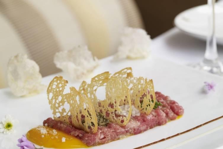 Wolfgang Puck at Hotel Bel-Air_Hand Cut Steak Tartare