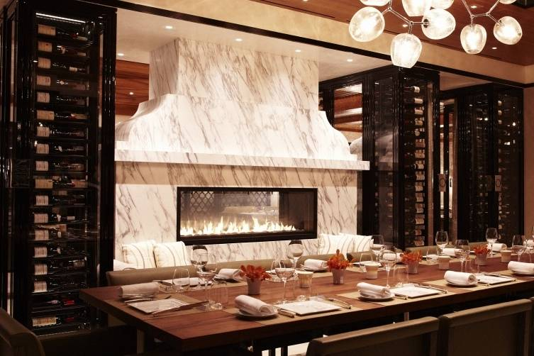 Wolfgang Puck at Hotel Bel-Air private dining