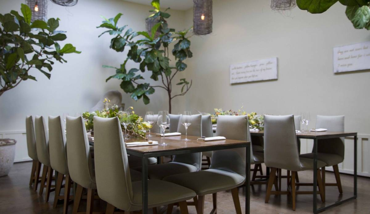 best private dining rooms in San Francisco. The hautest private dining rooms in San Francisco