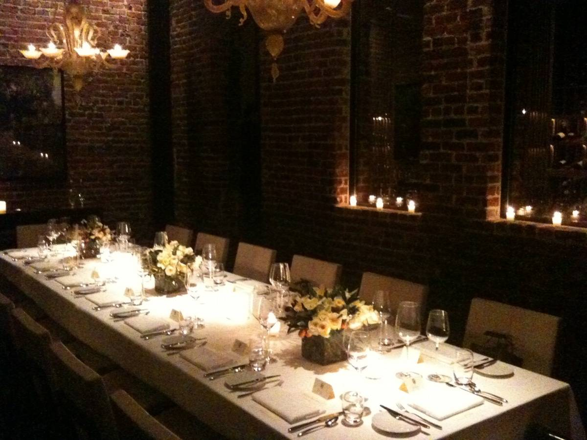 Quince Private Dining Room Cellar