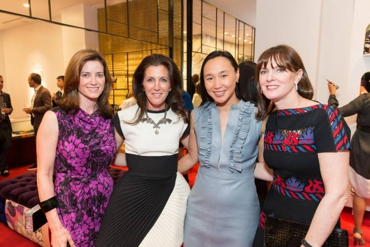 Carol Bonnie, Sloan Barnett, Dr. Carolyn Chang, Allison Speer