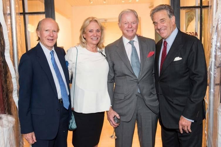Austin Hills, Sara Hills, Sandy Walker, Paul Pelosi