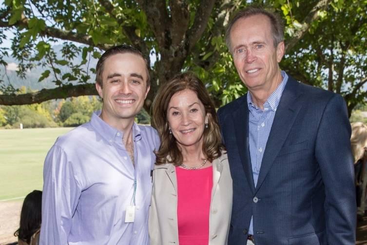 George Hamel III, Pam Hamel and George Hamel Jr.