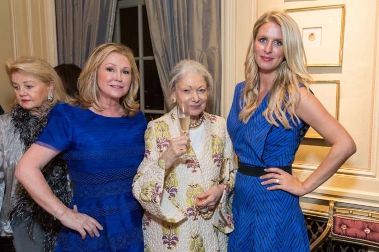 Kathy Hilton, Denise Hale and Nicky Hilton